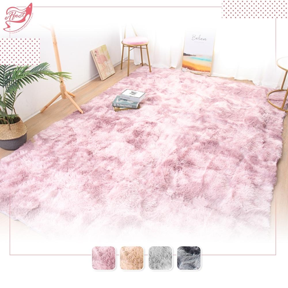 【Effect】現代簡約加厚長毛絨毛防滑地毯(80X160cm)