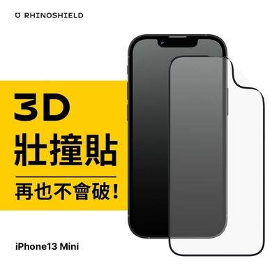 犀牛盾 iPhone 13 mini(5.4吋) 3D壯撞貼/耐衝擊手機螢幕保護貼