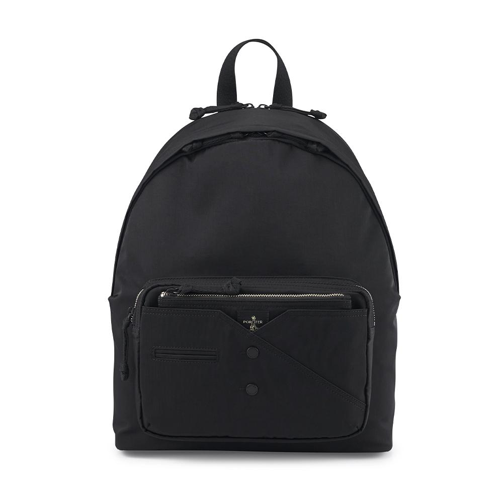 PORTER - 紳士品味CUFF(N)型格機能後背包 - 黑