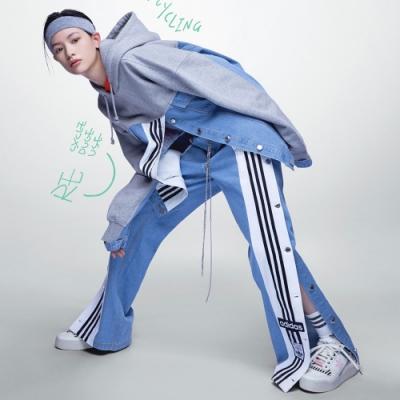 adidas DRY CLEAN ONLY X DENIM ADIBREAK 運動長褲 女 H59020