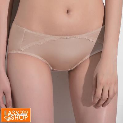 推EASY SHOP-微風女神 中低腰平口褲(零感膚)