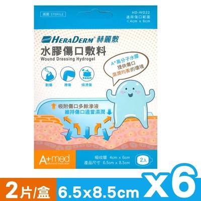 赫麗敷 HERADERM 水膠傷口敷料 6.5X8.5cm (2片X6盒)
