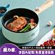 年度熱銷↘【MOLIJIA 魔力家】M18雙層防燙麥飯石不沾電煎烹飪鍋-木紋款 product thumbnail 2