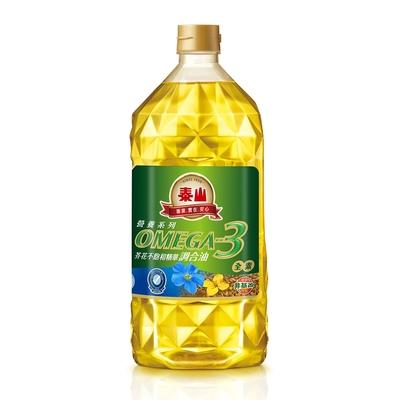 【泰山】Omega3芥花不飽和精華調合油(2L)