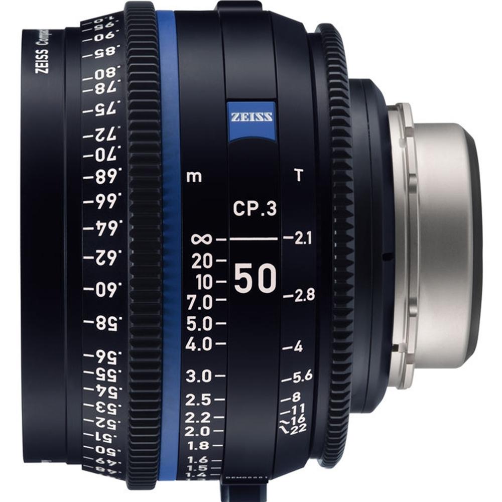 蔡司 Zeiss CP.3 50mm T2.1 Feet 電影定焦鏡頭 公司貨