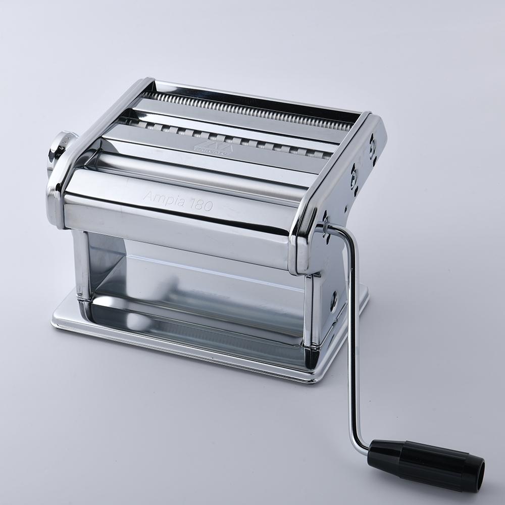 義大利Marcato Ampia 180 一體成型製麵機 銀色 義大利製