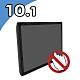 Nextech P系列 10.1吋 全平面工控螢幕(無觸控) product thumbnail 1
