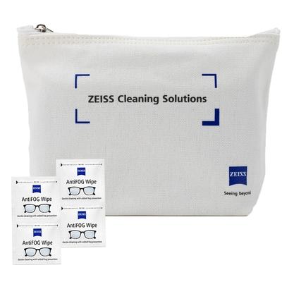 蔡司 Zeiss AntiFog Wipes 防霧拭鏡紙 100張 (含原廠帆布包)