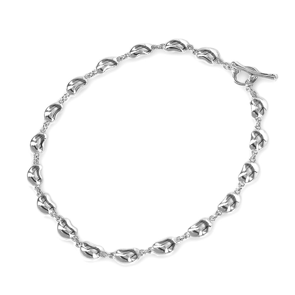 Tiffany&Co. Elsa Peretti BEAN 18顆相思豆手鍊