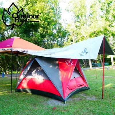【Outdoorbase】27秒斜角帳專用抗UV冰涼墊多層防曬隔熱墊 內附收納袋-21669