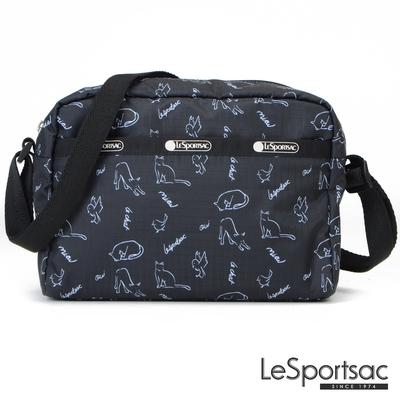 LeSportsac - Standard側背隨身包 (黑貓與鳥)