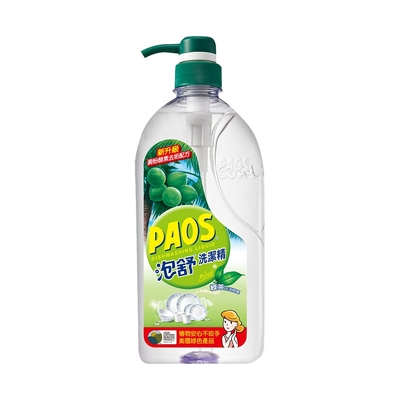 泡舒 洗潔精 綠茶去油除腥-1000g