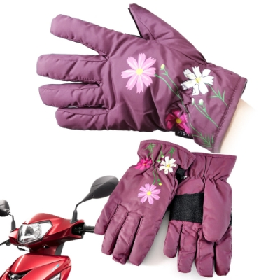 Bomandy 防風手套 保暖超輕量多功能(女款-7206)
