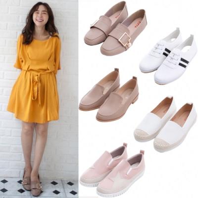 [38女神節限定] Zucca-小資女平底鞋款-五款任選