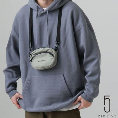 ZIP日本男裝 厚磅針織寬版寬袖素面帽TEE (10色)