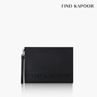 【FIND KAPOOR】CLUTCH 32 字母系列手拿包- 黑色