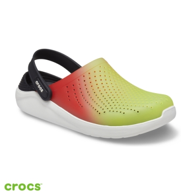 Crocs 卡駱馳 (中性鞋) LiteRide撞色克駱格 206597-3T9