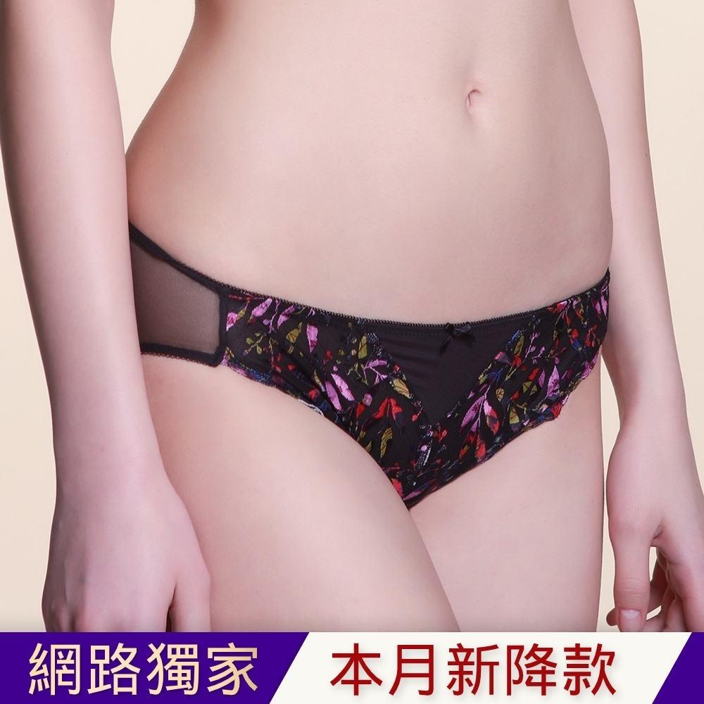 黛安芬-水感動魔術系列低腰內褲 M-EL 黑