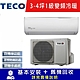 TECO東元 3-4坪 1級變頻冷暖冷氣 MA22IH-GA1/MS22IH-GA1 R32冷媒 product thumbnail 1
