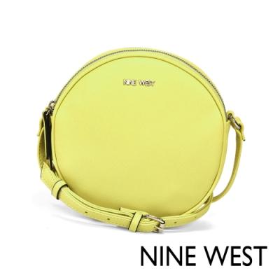 NINE WEST WHIMSY馬卡龍圓型斜背包-檸檬黃(524169)