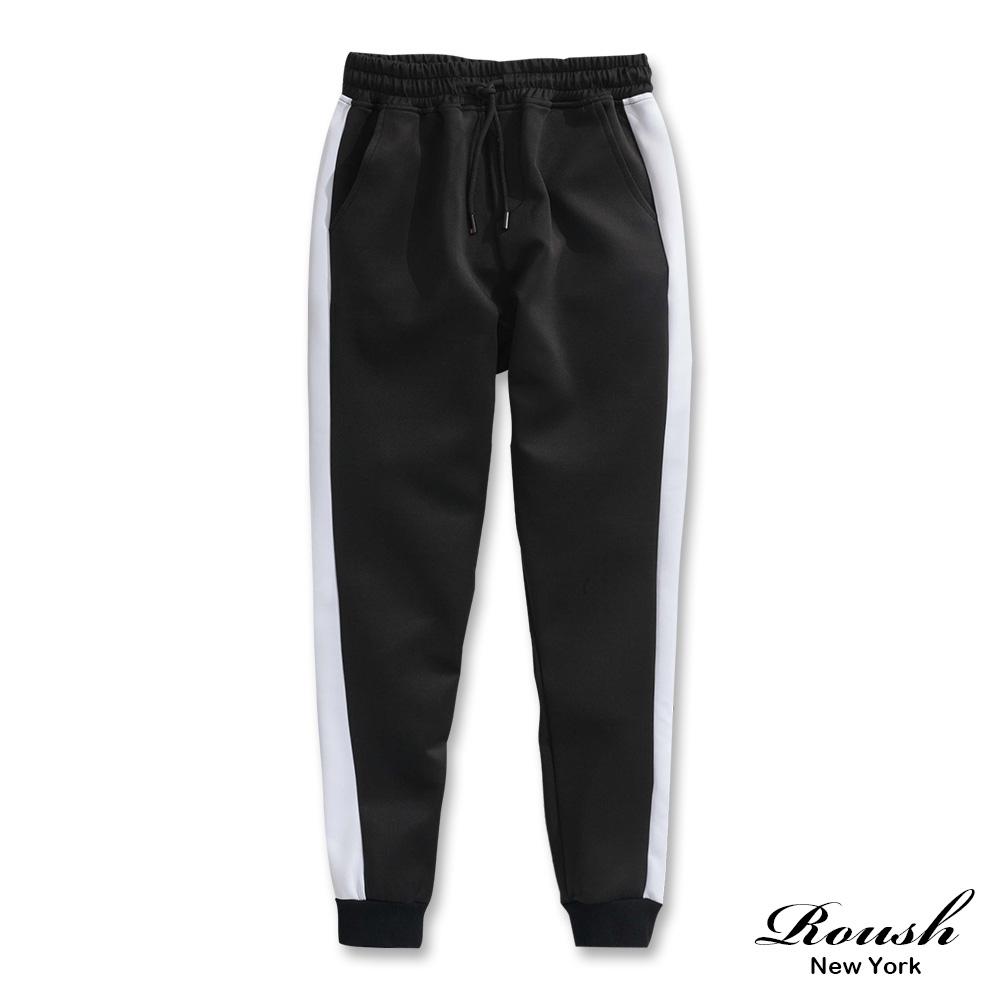 Roush 側接色機能性束口棉褲(2色)