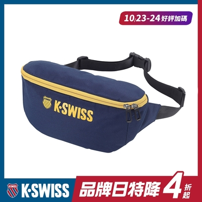 K-SWISS CT FANNY BAG休閒運動腰包-深藍