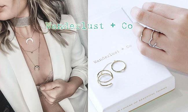 Wanderlust+Co 澳洲品牌 太陽月亮圓形銀項鍊 曙光乍現光芒造型 DAWNING