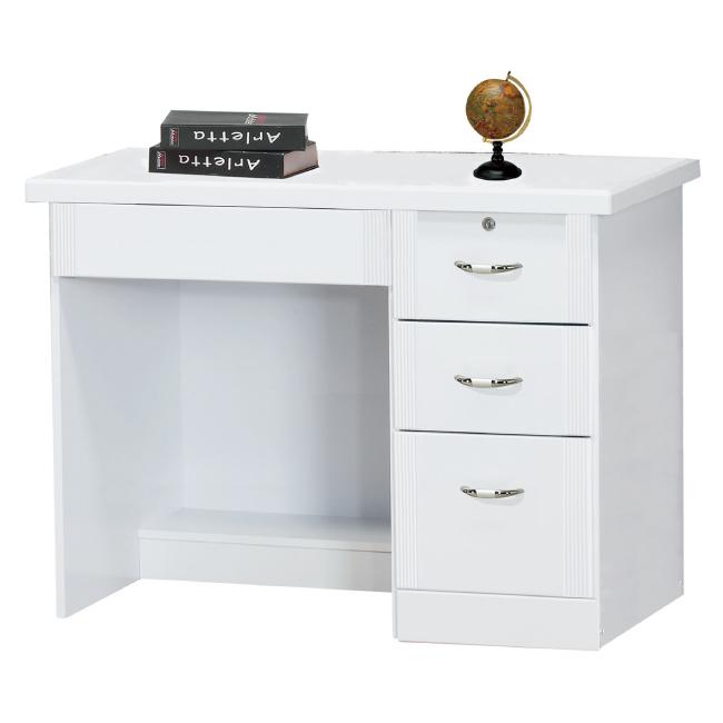 AS-卡蜜拉烤漆3.5尺書桌下座-105x59.5x76.5cm