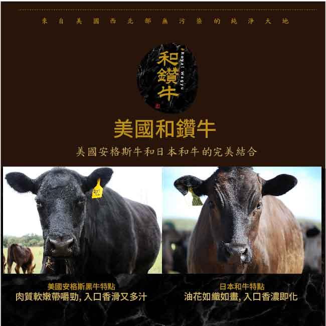 【漢克嚴選】美國和牛PRIME頂級嫩肩沙朗牛排10片(120g±10%/片)