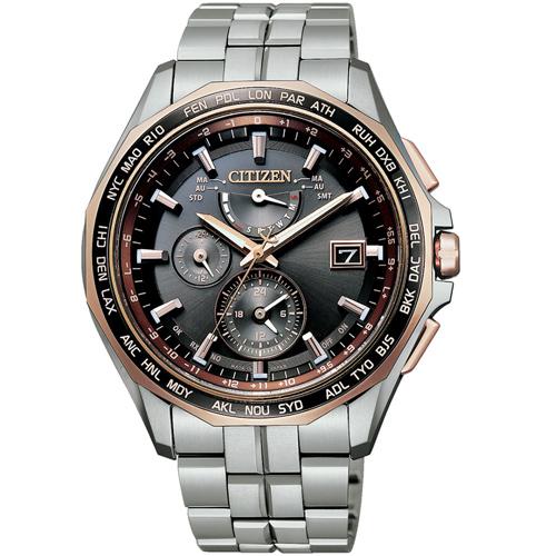 (無卡分期12期)CITIZEN星辰BRAVE 限量電波鈦金屬錶(AT9095-68E)