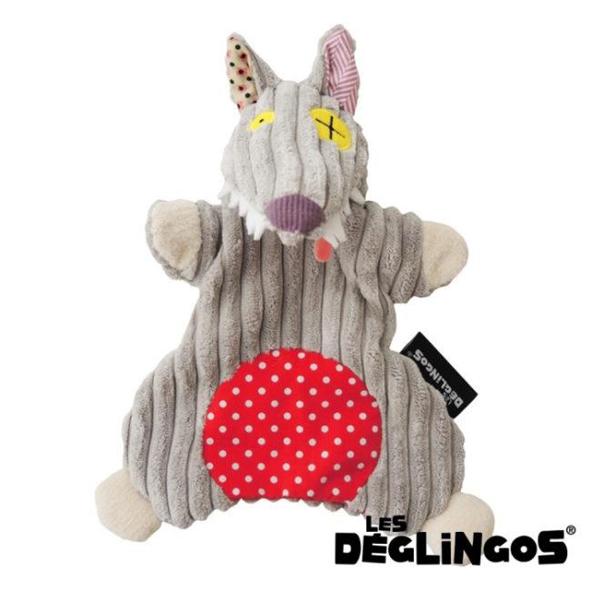 Les Deglingos 套手玩偶--狼 (BIGBOS)