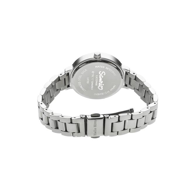 HELLO KITTY 凱蒂貓 微甜夢幻氣質手錶 銀/35mm