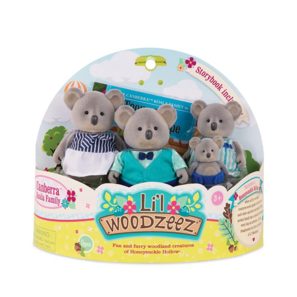 Lil Woodzeez 橡菓精靈 無尾熊家族
