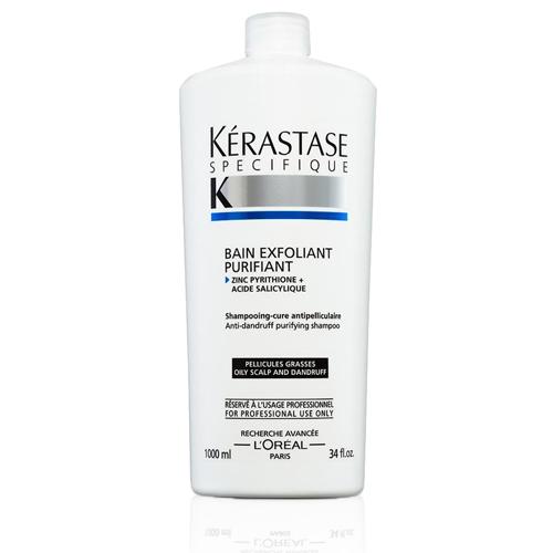 *KERASTASE 卡詩 淨化髮浴 長效抗屑 1000ML 洗髮精