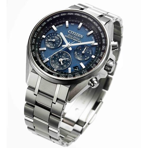 (無卡分期24期)CITIZEN星辰 GPS 衛星對時鈦金屬廣告款腕錶(CC4000-59L)