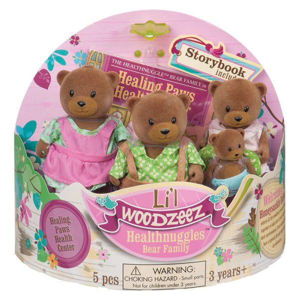 Lil Woodzeez 橡菓精靈 熊醫師家族