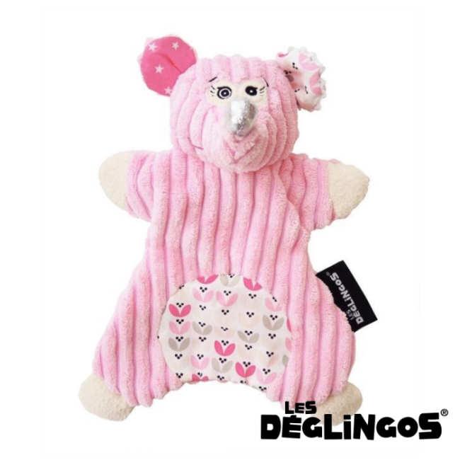 Les Deglingos 套手玩偶--老鼠 (COQUELICOS)