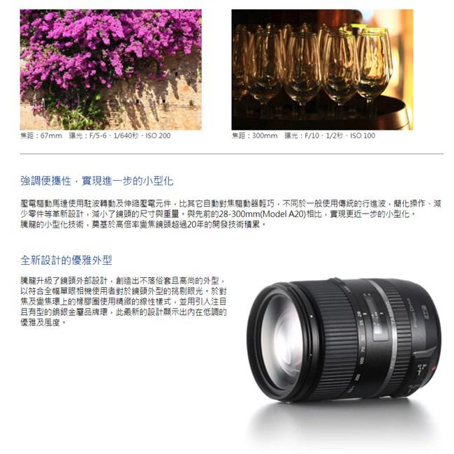 Tamron 28-300mm F3.5-6.3 Di A010(公司貨)