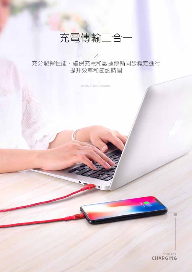 JOYROOM S-M351 智雅系列系列Micro USB充電傳輸數據線(1M)