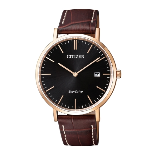 CITIZEN Eco-Drive 永恆典範時刻尼龍腕錶/白/AU1083-13H