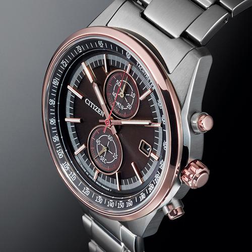 (無卡分期6期)CITIZEN BRAVE 計時光動能手錶(CA7034-61E)