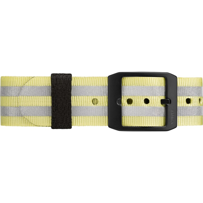 TIMEX 天美時 MK1系列 潮流軍錶-黑面x銀黃條紋/40mm