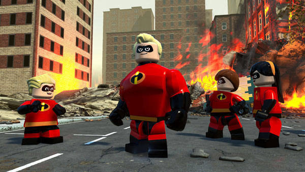樂高超人特攻隊 LEGO The Incredibles - PS4 中英文亞版