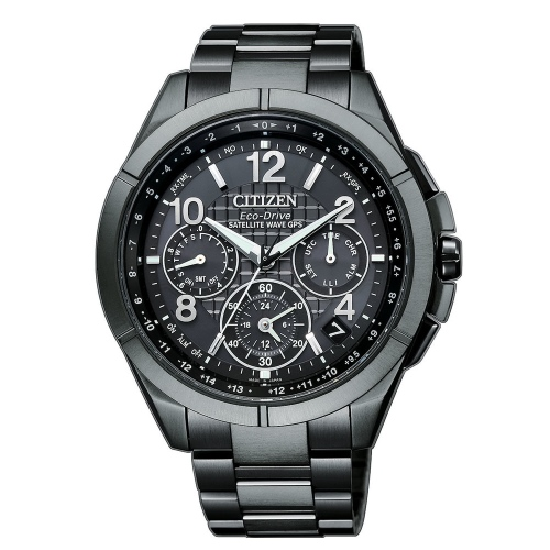 CITIZEN GPS極限衛星F900光動能鈦腕錶/CC9075-52F