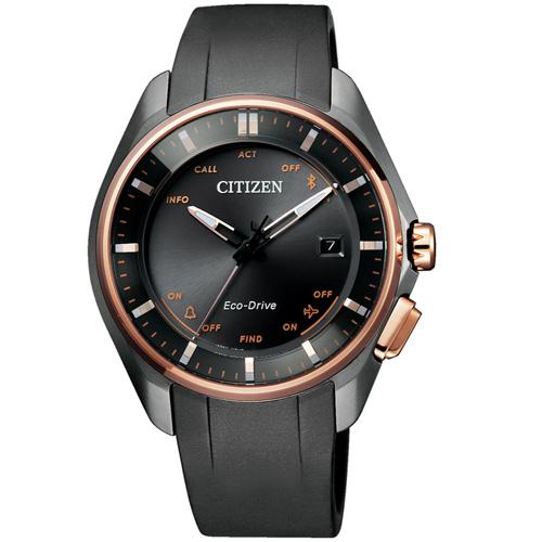 (無卡分期6期)星辰CITIZEN 藍芽光動能鈦限量腕錶(BZ4006-01E)