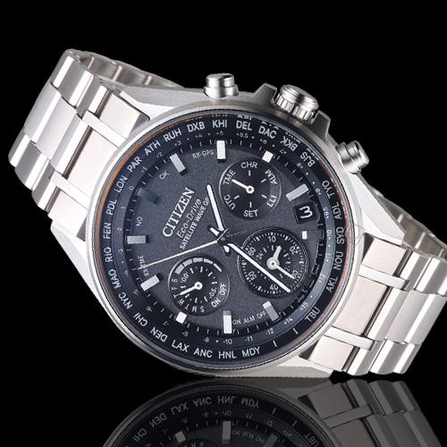 (無卡分期24期)CITIZEN 星辰 GPS衛星對時鈦金屬限量腕錶(CC4000-59E)
