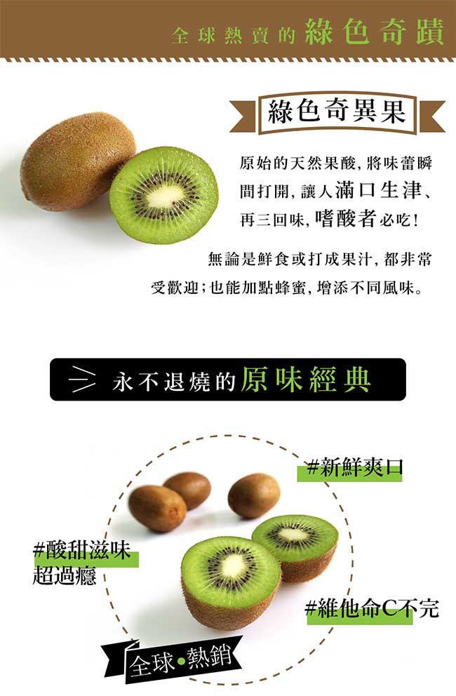 【果物配】綠色奇異果.紐西蘭(3.3kg/36顆入)