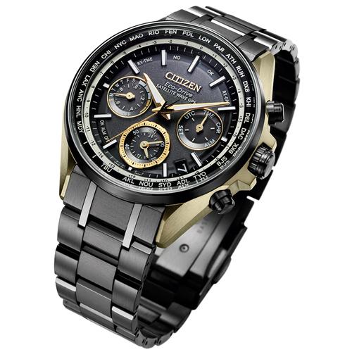 (無卡分期24期)CITIZEN星辰GPS衛星對時鈦金屬手錶(CC4004-66E)