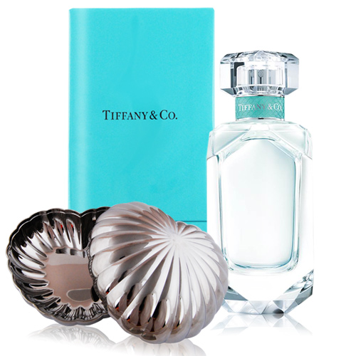 Tiffany & co. 同名淡香精75ml+GEORG JENSEN 心型置物盒