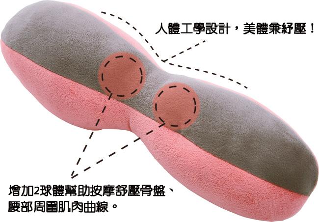 日本COGIT律動BODY骨盤舒筋枕